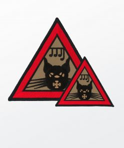 Mystic Cat Patch, Large and Small